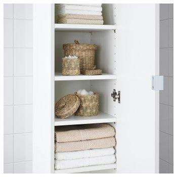 Набір коробок з кришкою IKEA LJUSNAN 3 шт морські водорості 604.136.20