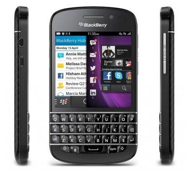 BlackBerry Q10 Black (1221444)