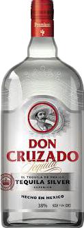 Текила Don Cruzado Silver 0.7 л 38% (8710701027313)