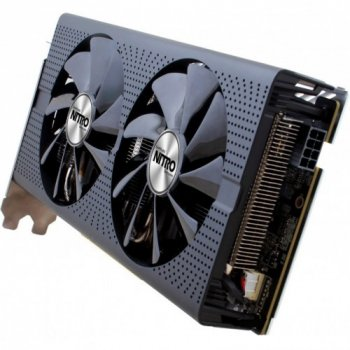 Видеокарта Sapphire Radeon Pci-Ex Nitro+ Rx 470 4G 256Bit Gddr5 (1143/1750) (Dvi, 2 X Hdmi, 2 X Displayport) (11256-01-20G)