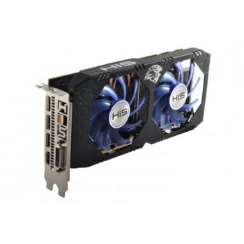 Видеокарта His Rx 470 Iceq X² Oc 4Gb 256Bit Gddr5 (1 x Dual Link DVI-I (HDCP), Hdmi, 3 x DisplayPort) (Hs-470R4Lcnr)