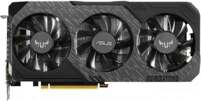 Відеокарта GF GTX 1660 6GB GDDR5 TUF Gaming X3 OC Asus (TUF3-GTX1660-O6G-GAMING)