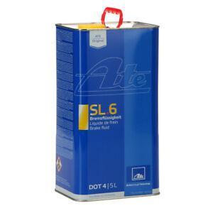 Гальмівна рідина ATE Brake Fluid SL.6 DOT-4 5 л (03.9901-6403.2)