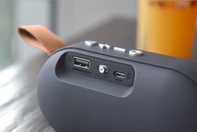 Портативна колонка TOPDCY Bluetooth T7 колір сірий