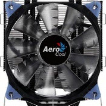 Кулер процесорний Aerocool Verkho 5 Dark, Intel:2066/2011/1156/1155/1151/1150/775, AMD:AM4/AM3+/AM3/AM2+/AM2/FM2/FM1, 156.5х123х73, 4-pin
