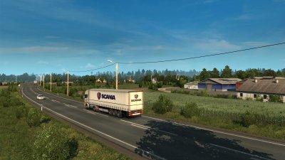 Игра Euro Truck Simulator 2 – Beyond the Baltic Sea для ПК (Ключ активации Steam)