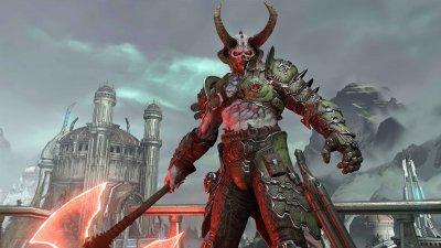 Игра DOOM Eternal – Deluxe Edition для ПК (Ключ активации Steam)