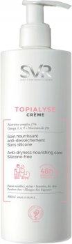 Крем для лица и тела SVR Topialyse Crème Soin Nourrissant Anti-Dessèchement для сухой и чувствительной кожи 400 мл (3401360215801)