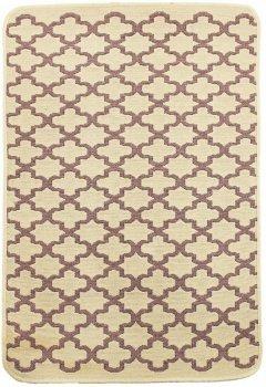 Набір килимків у ванну кімнату Izzihome Solo 40x60, 60x90 см Krem Geometri