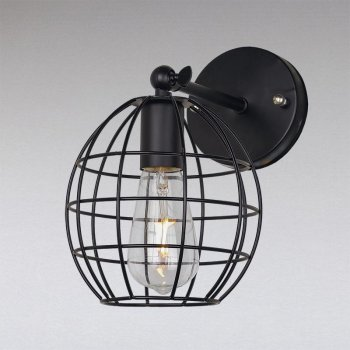 Бра Light House LS-11084-1W BK черное