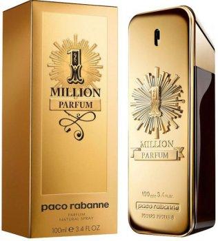 Парфюмированная вода для мужчин Paco Rabanne One Million Parfum 100 мл (3349668579839)
