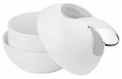 Відро для сміття Spirella Plastic Bowl 14x16 см Біле (10.14964)