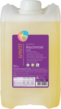 Органическое жидкое стиральное средство Sonett Lavender Концентрат с эфирным маслом Лаванды 10 л (4007547501126)