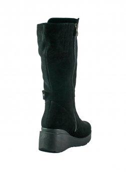 Сапоги зимние женские SND 158-з черные