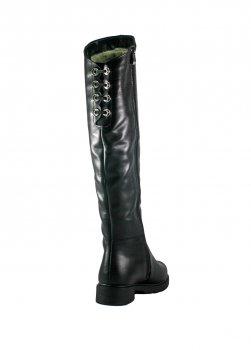 Сапоги зимние женские SND 205-к черные