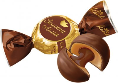 Конфеты Konti Золотая лилия со вкусом шоколада 1 кг (4823088604962)