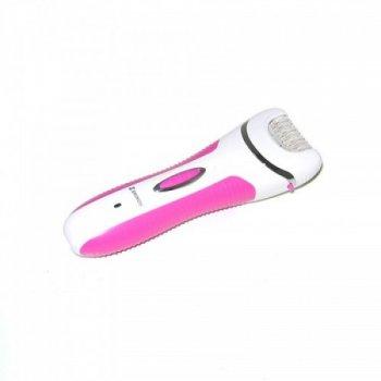 Эпилятор женский Shinon для удаления волос 4 в 1 с бритвенной насадкой 16.5 см Pink (SH7656)