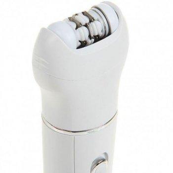 Акумуляторний масажер епілятор 5 в 1 Gemei GM-3072 ORIGINAL (епіляція,гоління,пілінг,масаж особи)