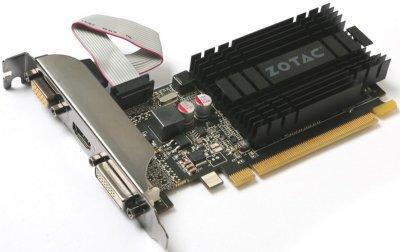 Zotac PCI-Ex GeForce GT 710 1024MB DDR3 (64bit) (954/1600) (HDMI, DVI, VGA) (ZT-71301-20L)