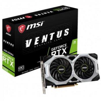 Видеокарта MSI GeForce RTX2060 6144Mb VENTUS OC (RTX 2060 VENTUS 6G OC)
