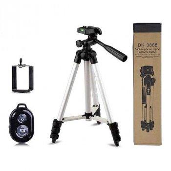 Штатив c Bluetooth-пультом для смартфона и камеры. UKC DK-3888