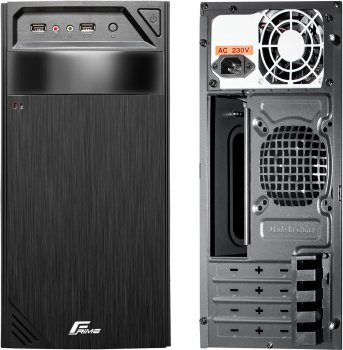 Корпус Frime FC-010B 400W Black (FC-010B-400-8)