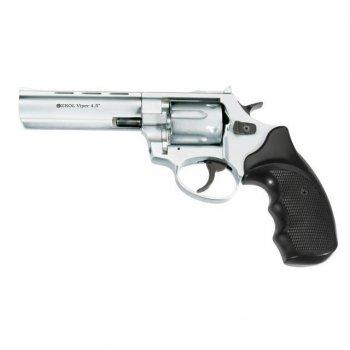 Револьвер под патрон флобера Ekol Viper 4,5 (хром)