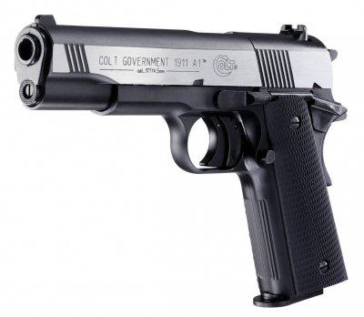 Пистолет пневматический Umarex Colt Goverment 1911 A1 Dark Ops