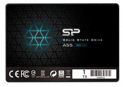 "SSD Silicon Power A55 1TB 2.5"" SATAIII TLC (SP001TBSS3A55S25)"