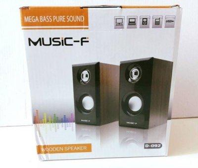 Колонки Music-F для ПК,ноутбука,MP3/MP4 плеєра 2.0 (tr1080)