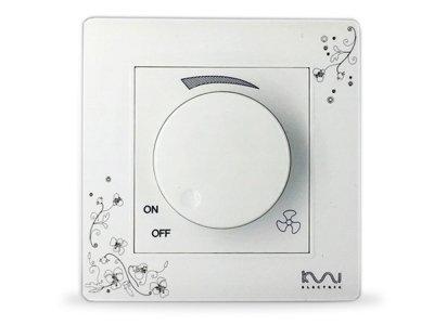Регулятор Coswall Швидкості вентилятора Білий (1004-039-00)