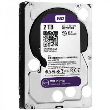 """Жорсткий диск 3.5"""" 2TB WD (WD20PURZ)"""
