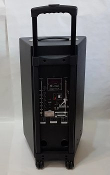Колонка акумуляторна професійна ZPX зі світломузикою і бездротовим мікрофоном 120W (ZX7777)