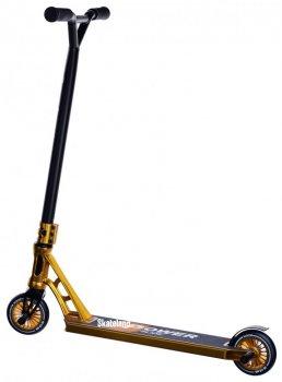 Професійний трюковий самокат Maraton Powerslide Gold з пегами