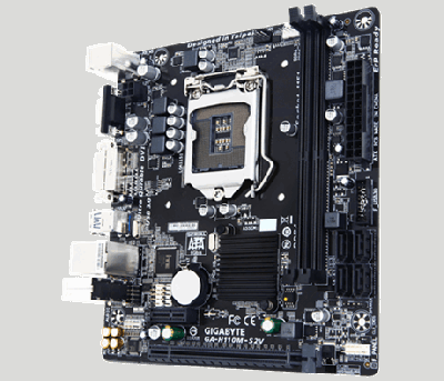 Материнська плата Gigabyte GA-H110M-S2V (s1151, Intel H110, PCI-Ex16)