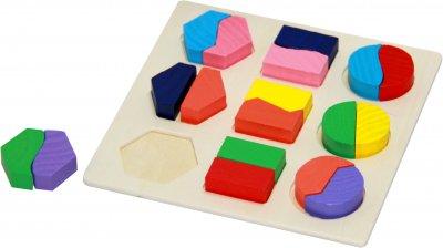 Гра Руді 3 в 1 Геометрика форми 2 (Д458у) (4823064603033)
