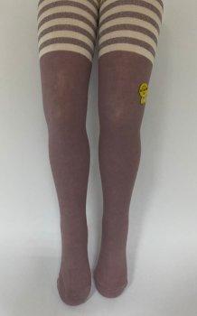 Детские колгтоки для девочек подростков KBS Турция размер 13 рост 158-170 см розовые 4-10706