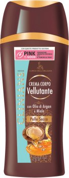 Крем для тіла Clinians Body Fluida Corpo Velvet рідкий для сухої шкіри з аргановою олією і медом 250 мл (8003510027682)