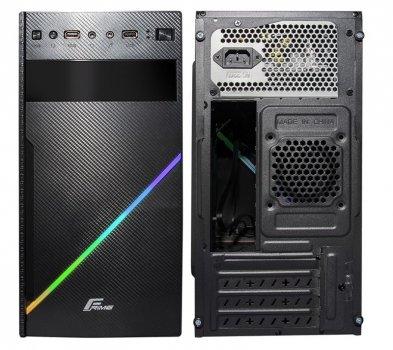 Корпус Frime Tanto RGB USB 2.0, без БЖ (TANTO-RGB-WP); 2xUSB 2.0