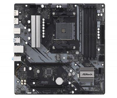 Материнська плата ASRock A520M Phantom Gaming 4 Socket AM4