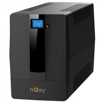 ИБП NJOY Horus Plus 1000 (PWUP-LI100H1-AZ01B), Lin.int., AVR, 4 x евро, USB, LCD, пластик
