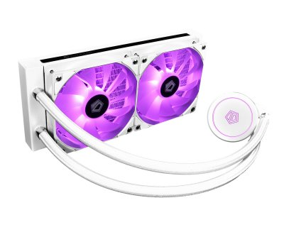 Система водяного охолодження ID-Cooling Auraflow X 240 Snow, Intel: 1200/2066/2011/1366/1151/1150/1155/1156, AMD: TR4/AM4/FM2+/FM2/FM1/AM3+/AM3/AM2+/AM2, 276х120х27 мм, 3-pin, 4-pin