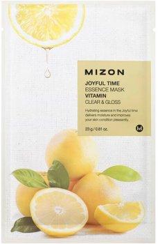 Маска для лица Mizon Joyful Time Essence витаминная 23 г (8809479166475)