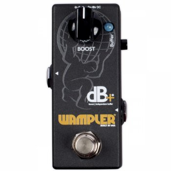 Гітарна педаль ефектів Wampler dB+ Boost/Independent Buffer (7-DB+ Boost)