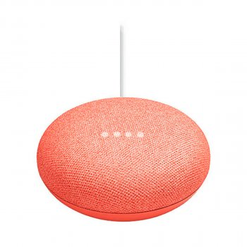 Розумна акустика з голосовим асистентом GOOGLE Home Mini Coral