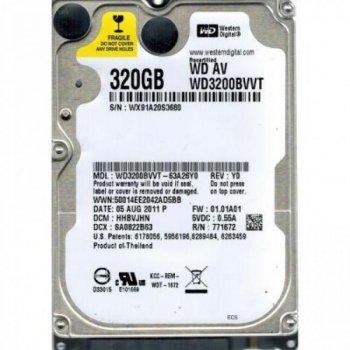 """Жорстку диск WD WD3200BVVT 2.5"""" SATA 5400 8MB REF 320GB"""