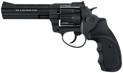 "Револьвер під патрон Флобера 4 мм Stalker S 4,5"" Black (силуміновий барабан)"