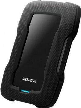 "Жорсткий диск ADATA Durable HD330 1TB AHD330-1TU31-CBK 2.5"" USB 3.1 External Black"