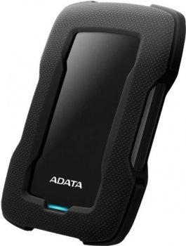 "Жесткий диск ADATA Durable HD330 1TB AHD330-1TU31-CBK 2.5"" USB 3.1 External Black"