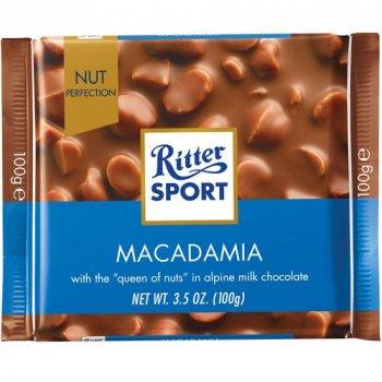 Молочный шоколад Ritter Sport MACADAMIA 100 г